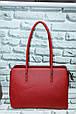 Сумка женская классическая модная кожзам размер 32х25х12 купить оптом со склада 7км Одесса, фото 5