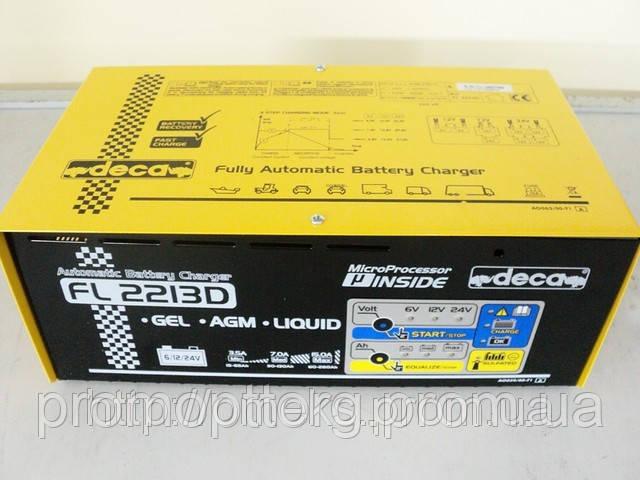 Зарядное устройство для автомобильного аккумулятора Deca FL2213D MTG