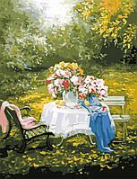 Художественный творческий набор, картина по номерам Отдых в саду, 50x65 см, «Art Story» (AS0649)