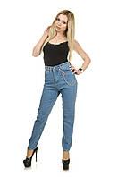 Женские джинсы МОМ голубые Турция