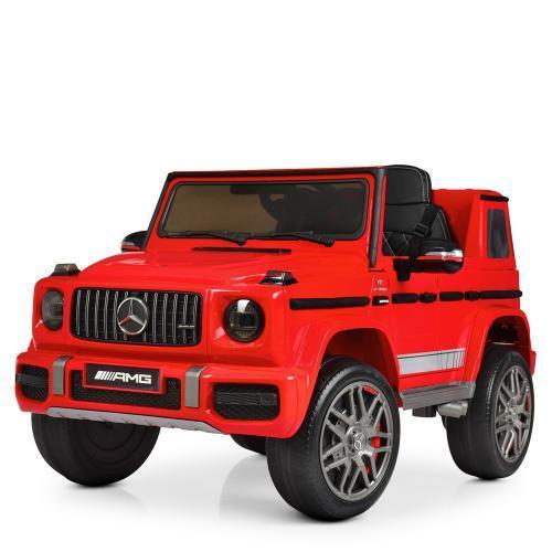 Электромобиль Джип M 4180EBLR-3 красный