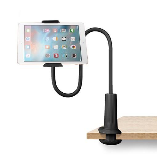 Универсальный гибкий штатив Awei X3 70 см с держателем для планшета/смартфона. Держатель для гаджетов 70 см