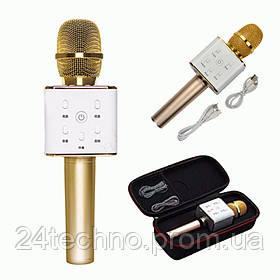 Микрофон караоке q7 беспроводной микрофон.