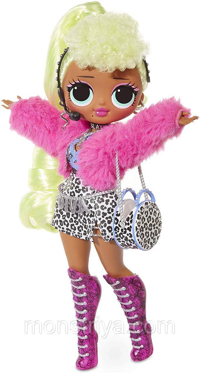 Ігровий набір з лялькою Лол Леді Діва L. O. L. Surprise! O. M. G. Lady Diva / Лол Фешн Ляльки