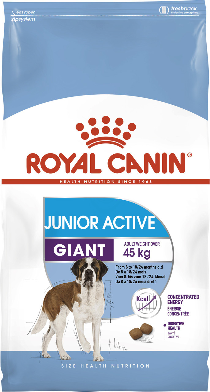 Сухой корм для молодых собак крупных пород Royal Canin Giant Junior Active 15 кг