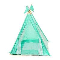 """Вигвам детский игровая палатка """"Бирюза"""""""