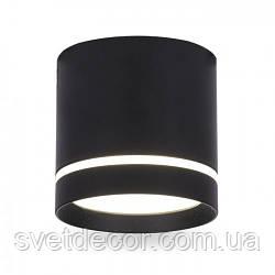Светодиодный светильник накладной точечный Feron AL543 10W 4000К черный
