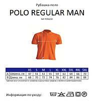 Мужская футболка-поло JHK POLO REGULAR MAN цвет светло-зеленый (MG), фото 4