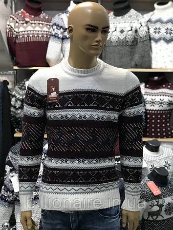 Новорічний светр з оленем, фото 2