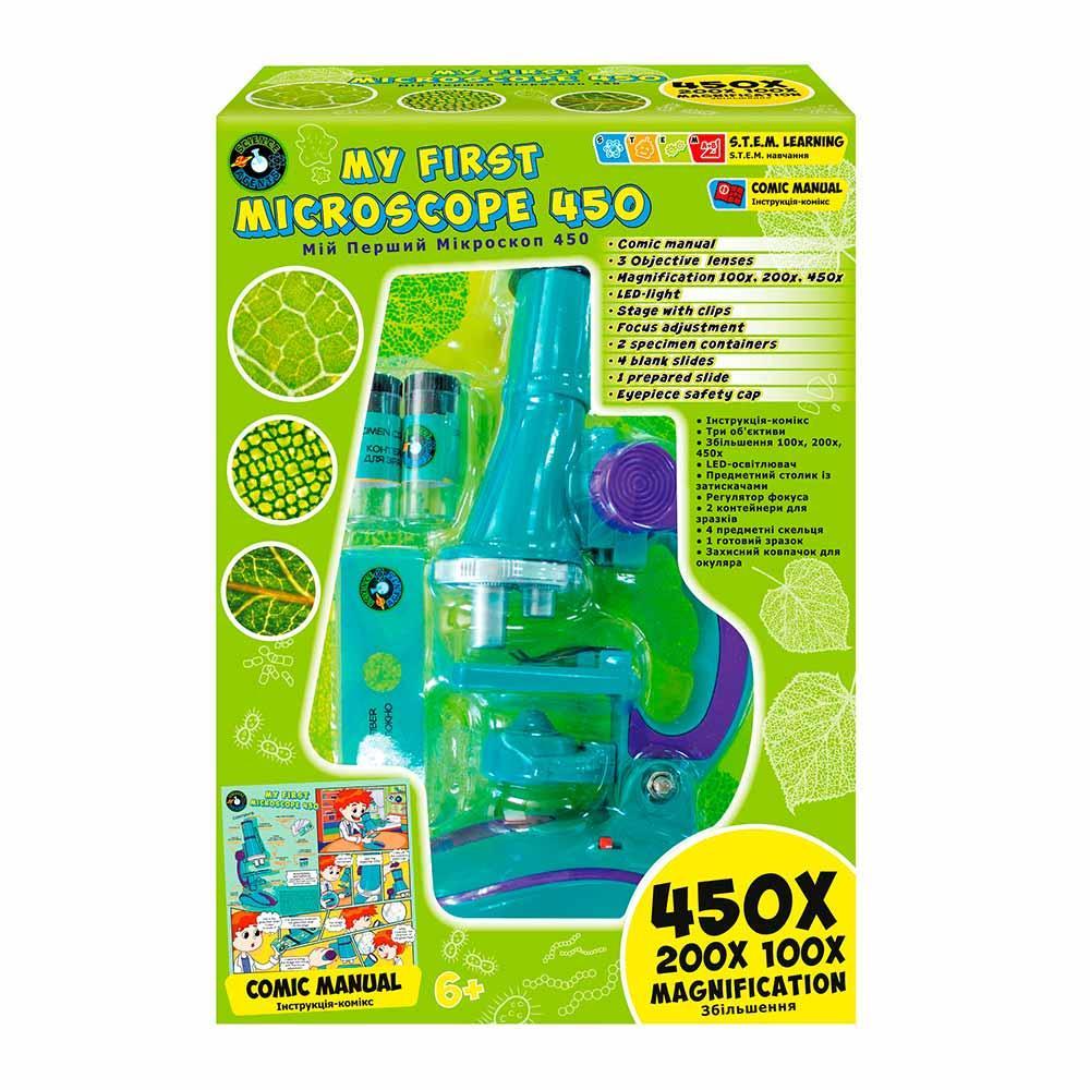 Игровой набор Science Agents Мой Первый Микроскоп 450     44011