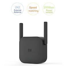 Xiaomi Mi Wifi Amplifier Pro бездротовий підсилювач wifi сигналу ретранслятор, повторювач 300 мбіт/с Black, фото 2