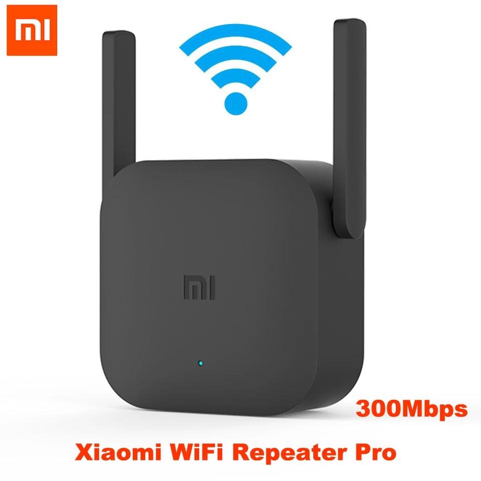 Xiaomi Mi Wifi Amplifier Pro бездротовий підсилювач wifi сигналу ретранслятор, повторювач 300 мбіт/с Black
