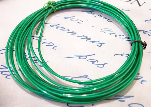 Электролюминесцентный провод (холодный неон) III поколение, диаметр- 2.2 мм., цвет- Зеленый, фото 2
