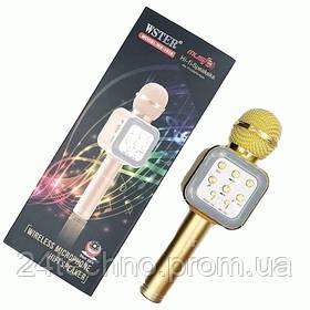 Микрофон беспроводной для караоке Bluetooth WS-1818 Универсальный
