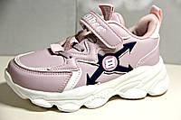 Качественные кроссовки clibee для девочек 27р. по стельке 17 см, фото 1