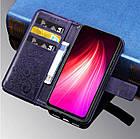 Чехол книжка Clover для Xiaomi Redmi Note 8 (3 цветов), фото 4