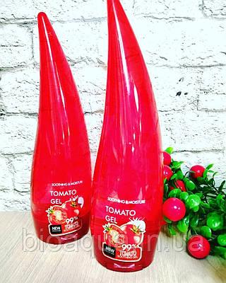 Увлажняющий гель для лица Pretty Cowry Tomato Soothing Gel 99% с экстрактом томата 120 g