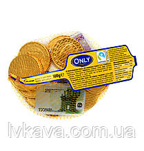 Молочный шоколад Banknotes and gold coins   Only, 100 гр