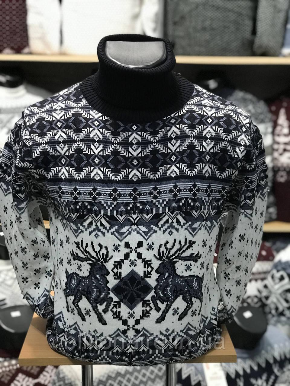 Новорічний светр з оленем 4
