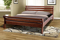 Кровать Ретро-2 (1,6 м.) (ассортимент цветов) (Сосна)