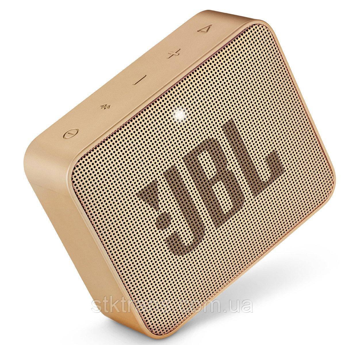 Портативная колонка JBL Go 2 Champagne (F00170107)