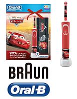 Электрическая зубная щетка Braun Cars + дорожная упаковка