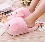 Розовые тапочки свинки, фото 4