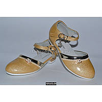 Нарядные туфли для девочки 25-32 размер, праздничные туфельки на утренник, 105-03-20