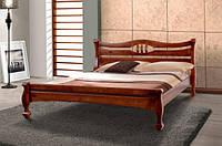 Кровать Динара (1,6 м.) (ассортимен цветов) (Сосна)