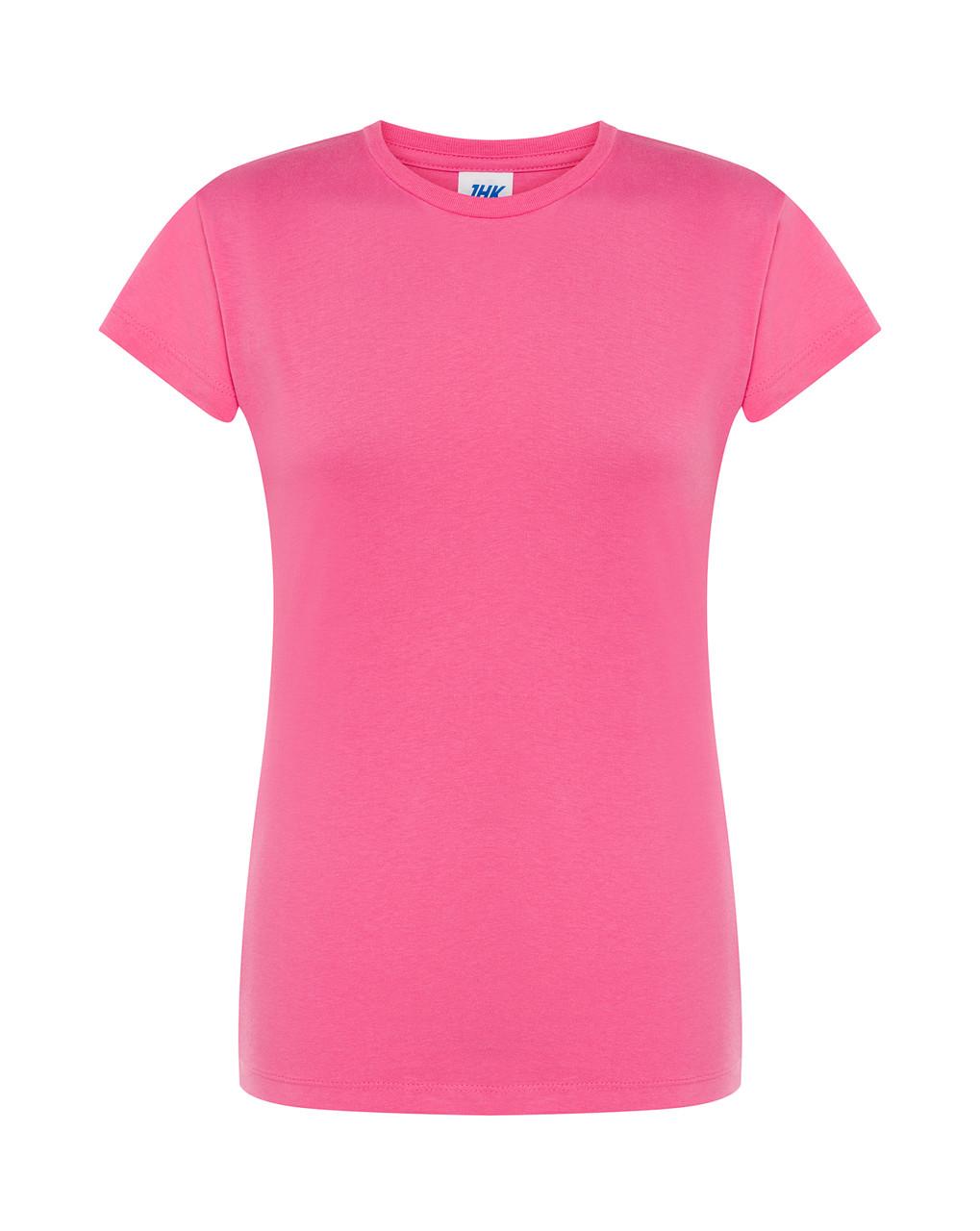 Женская футболка JHK COMFORT LADY цвет розовый (AL)