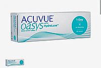 Acuvue Oasys 1-day HydraLuxe однодневные контактные линзы (30 линз), фото 1