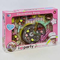 Детский Игровой набор сладостей DG 100-3 (16) на липучках, в коробке