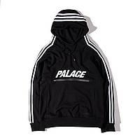 Хайповая толстовка Худи Adidas x Palace (ТОП реплика)
