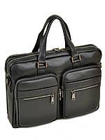 Сумка Мужская Портфель кожаный BRETTON BE 5359-1 black, фото 1