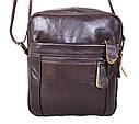 Мужская кожаная сумка Dovhani Dov-3922 Коричневая, фото 2
