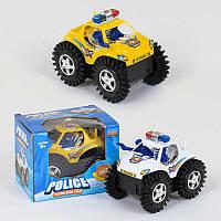 """Игрушечная Машина-перевертыш 6688 А """"Полиция"""" (192) 2 цвета, на батарейке, в коробке"""