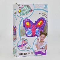 """Набор для творчества подушка  """"Бабочка"""" в коробке"""