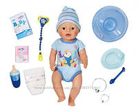 Кукла пупс Baby born беби борн мальчик малыш 43 см, Zapf 822012