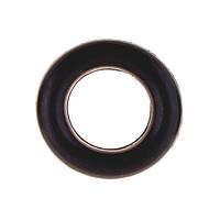Эспандер резиновый кольцо, D=8,5см, черный
