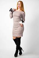 Платье трикотажное от бренда Adele Leroy.