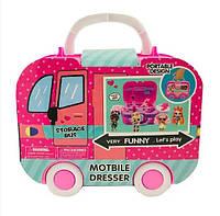 Ігровий набір Storage Bus Автобус з лялькою і аксесуарами