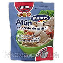 Тунец в подсолнечном масле Atun en aceite de Girasol Montey , 145 гр