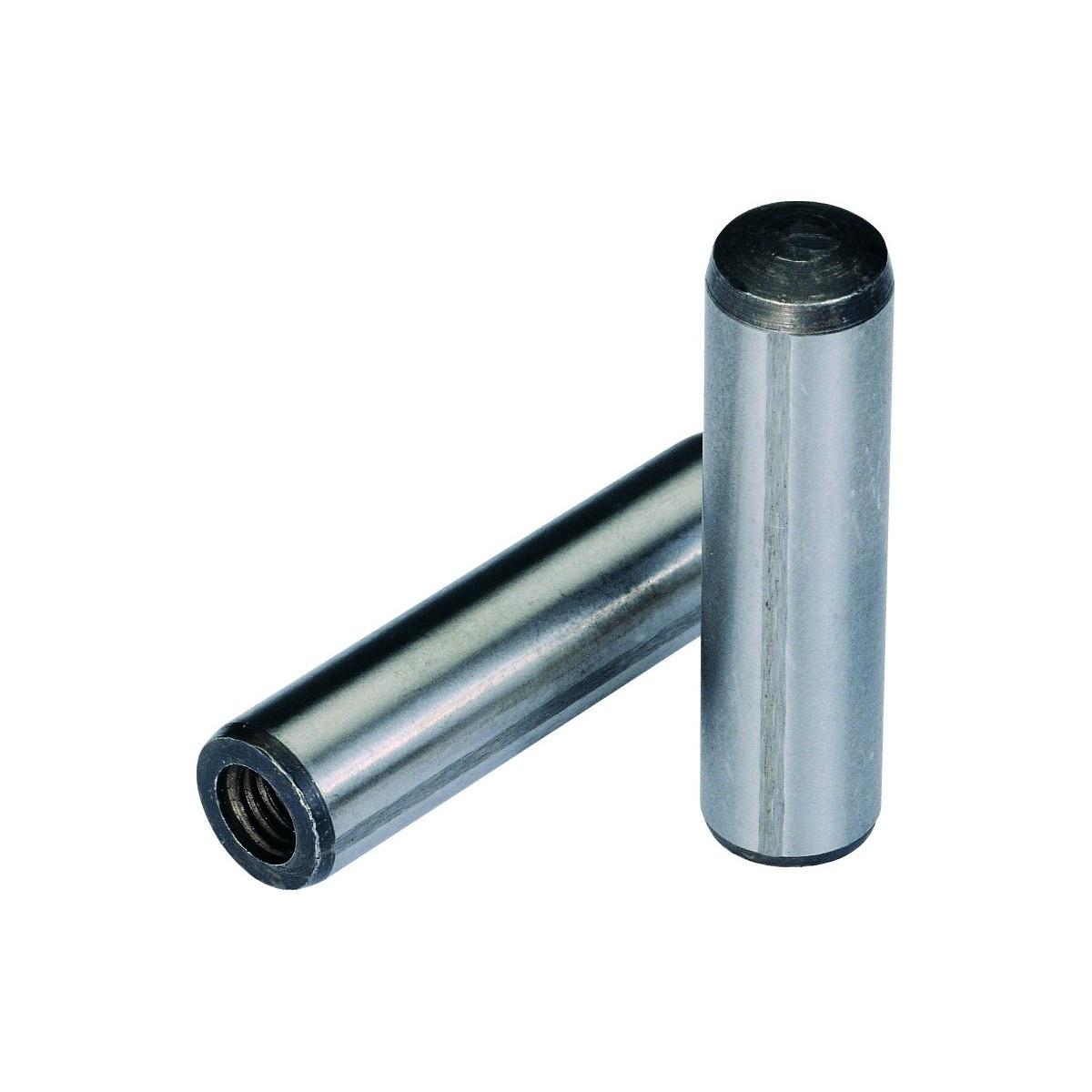 Штифт цилиндрический MMG  DIN 7979D M10 х 100 Класс 10.9 (Фосфат) 1 шт
