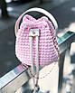 Набор  для вязания крючком «Мини торбочка», фото 3