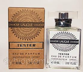 Тестер 60ml Gold для женщин Lalique L'Amour