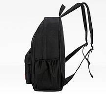 Стильний тканинний набір 4в1 Supreme Рюкзак, барсетка, косметичка, пенал, фото 3