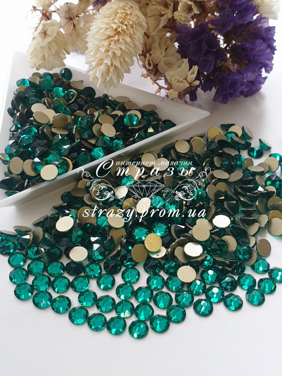 """Стразы ss20 Green Zircon Xirius 8+8, 100шт. (5.0мм) """"Crystal Premium"""""""