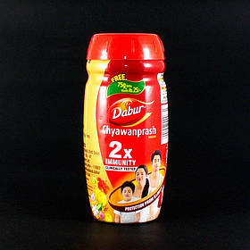Чаванпраш Дабур Двойной Иммунитет (Chyawanprash Dabur Double Immunity) 500 +75 грамм