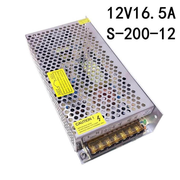 Блок питания 200Вт 12В 16.5А