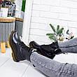 """Ботинки женские зимние, черного цвета из натуральной кожи """"9211"""". Черевики жіночі. Ботинки теплые, фото 3"""